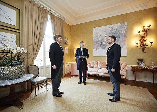 Maart 2015 foto en video het koninklijk huis for De koning interieur