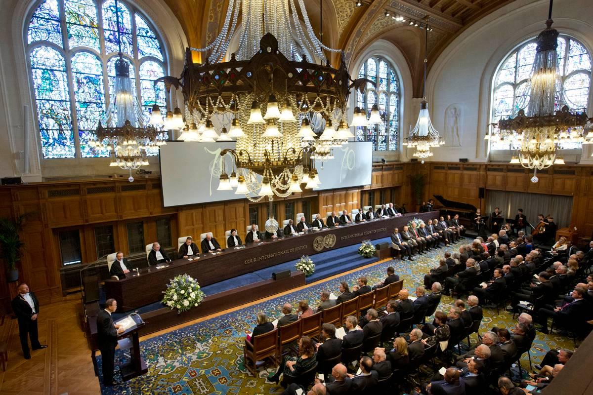 Koning bij viering 70 jaar Internationaal Gerechtshof | Nieuwsbericht | Het  Koninklijk Huis