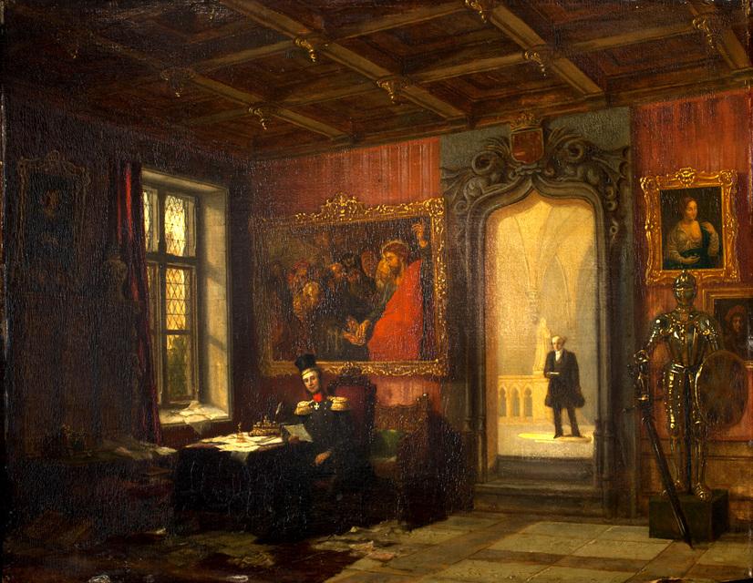 Paleis kneuterdijk foto en video het koninklijk huis for De koning interieur