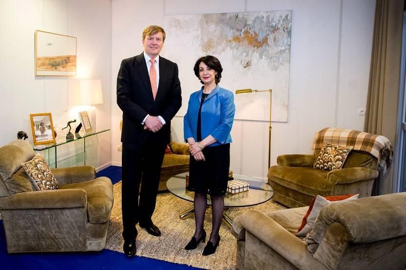 Koning ontvangt voorzitter tweede kamer nieuwsbericht het koninklijk huis - Kamer van water in de kamer ...