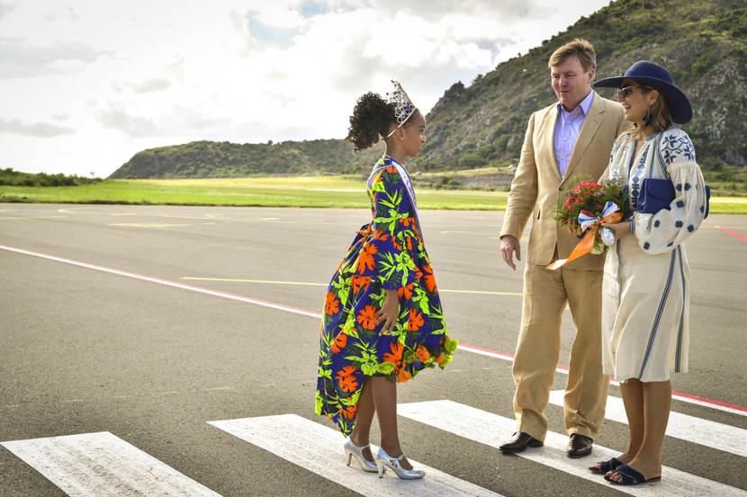 Королевская чета Нидерландов начала турне по Нидерландским Антильским островам