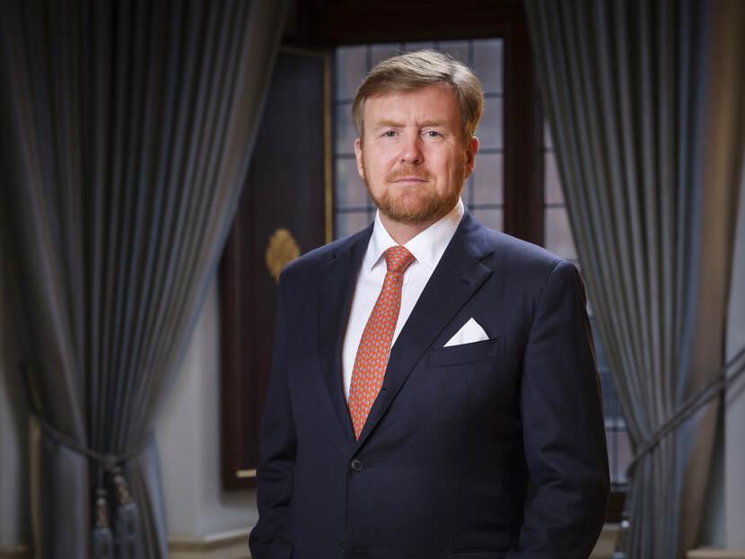 Koning Willem-Alexander, 2020, liggende foto