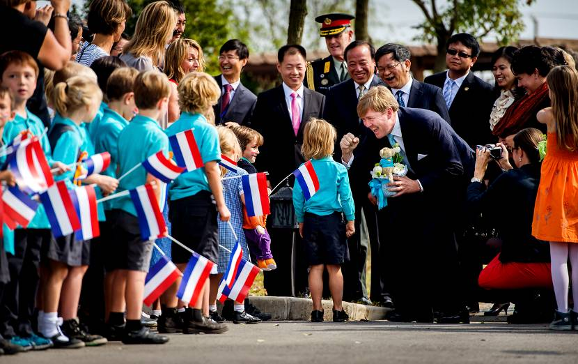 Koning Willem-Alexander bezoekt het National Engineering Research Center of Protected Agriculture