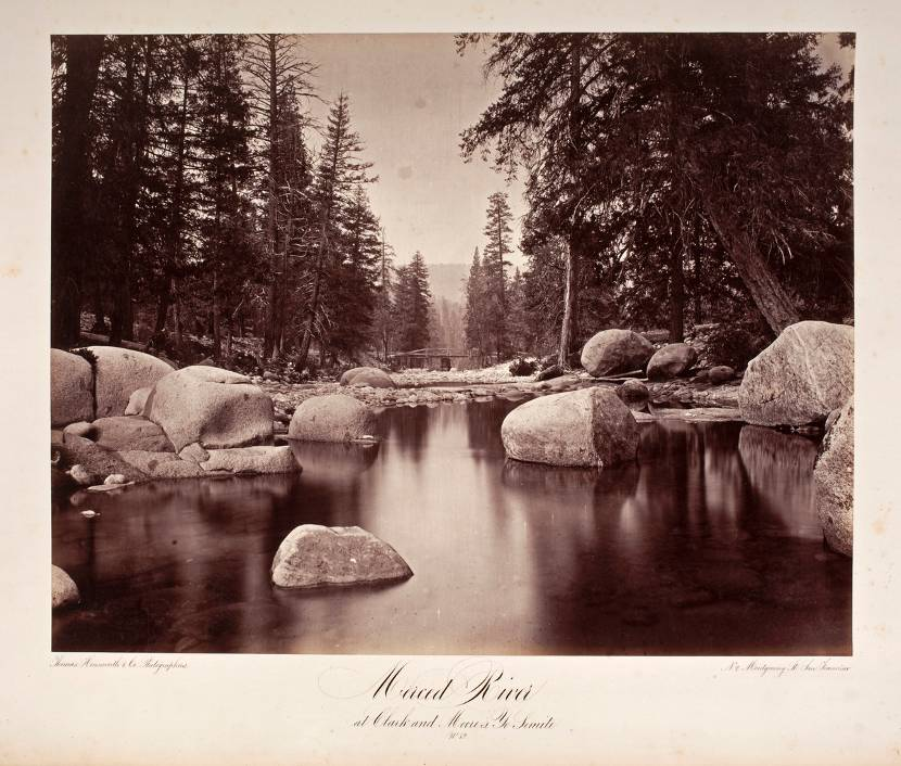 Merced River at Clark and Moore's. Yo Semite. No 82