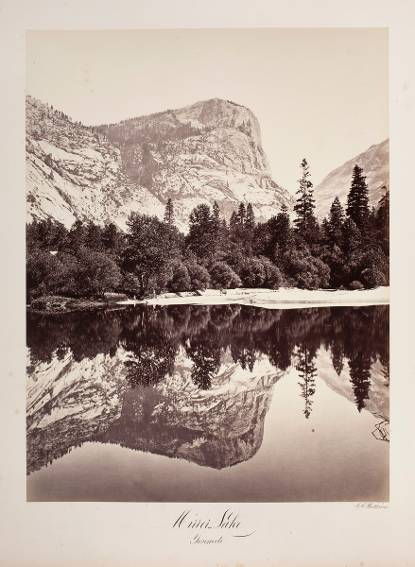 Mirror Lake. Yosemite