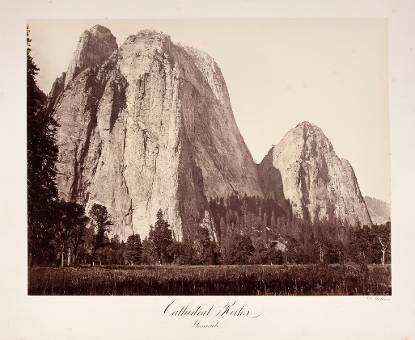 Cathedral Rocks. Yosemite