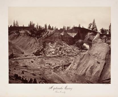 Hydraulic Mining. Placer County