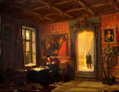Willem ii kunstkoning foto en video het koninklijk huis for De koning interieur